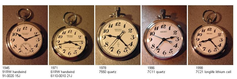 181900210 Re: Seiko Railroad Approved Pocket Watch